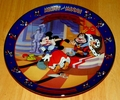 Disney  Collector Plate Titled Brave Little Tailor Second Issue in the Disney Mickey and Minnie Through the Years