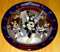 Disney Collector Plate Titled Mickey Mouse Club Fifth Issue in the Disney Mickey and Minnie Through the Years