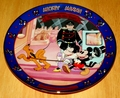 Disney Collector Plate Titled Mickey's Gala Premiere Fourth Issue in the Disney Mickey and Minnie Through the Years