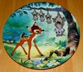 Disney Collector Plate What's Up, Possums? From Bambi Series