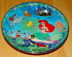Disney Musical Memories Collector Plate 1996 Under the Sea Little Mermaid Out of Stock