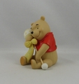 Disney Pooh & Friends Figurine Smiles & Tickles From Pooh To You