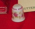 Floral Medley Reutter Porzellan Porcelain West Germany Thimble Collectors Club