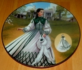 Gone With The Wind 1994 Collector Plate Country Walking Dress Costuming of a Legend