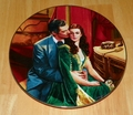 Gone With The Wind Collector Plate 1992 Dreams of Ashley