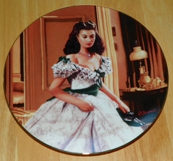 Gone With The Wind Collector Plate 1993 Nap Time Out of Stock