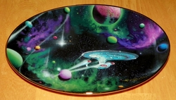 Hamilton Star Trek Collector Plate Signs of Intelligence