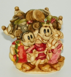 Harmony Kingdom Figurine Disney Exclusive Mickey Through The Years WDWRMM 2000