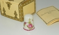 Heirloom Editions Hummingbird California Handpainted Porcelain Thimble