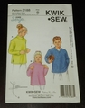 Kwik Sew New Uncut Pattern # 3188 Boys & Girls Sizes XS(4-5) - XL (12-14) Shirts