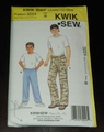 Kwik Sew New Uncut Pattern # 3224 Boys Sizes 8-16 Pants & Head Wrap