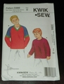 Kwik Sew New Uncut Pattern # 3366 Boys Sizes XS (4-5)-XL (12-14 ) Shirts