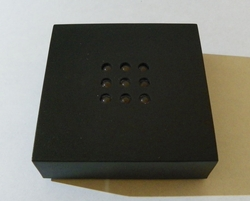 Light Base 9 Colored LED Lights - Black 3 7/8 X 3 7/8 X 3/4 Out of Stock