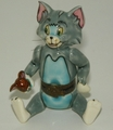 Looney Tunes Porcelain Articulated Box Tom Jerry-Cut to the Chase LE 500 1997  SOLD