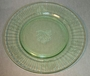 "Pair Luncheon Plates 8"" Hazel Atlas Fruits"
