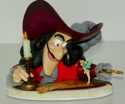 Peter Pan Not a Finger or a Hook Story Time Figurine SOLD