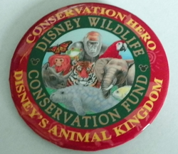 Pinback Button - Animal Kingdom Disney