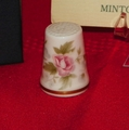 Spring Bouquet Minton Porcelain England Thimble Collectors