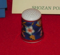The Hikari Shozan Porcelain Japan Thimble Collectors Club