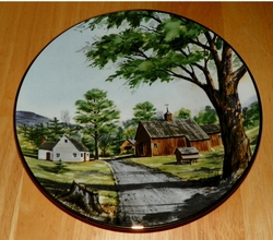 Collector Plate New England Barn The Vanishing American Barn Collection 1983
