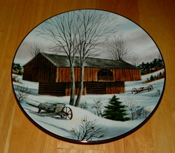 Collector Plate Appalachian Barn The Vanishing American Barn Collection 1983