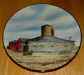 Collector Plate Round Barn The Vanishing American Barn Collection 1983