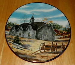 Collector Plate Victorian Barn The Vanishing American Barn Collection 1983