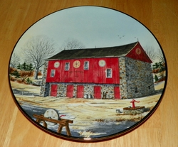 The Vanishing American Barn Collection Collector Plates