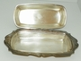 Vintage Newport Silverplate Butter Dish