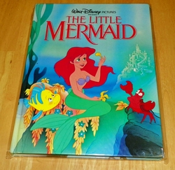 Walt Disney Classic Book Series The Little Mermaid 1989