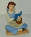 WDCC Disney Figurine Beauty and the Beast Belle Bookish Beauty Membership Piece 2005 SOLD
