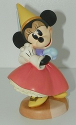 WDCC Disney Figurine Minnie Mouse Princess Minnie Brave Little Tailor Closed 03/97