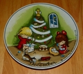 West Germany 2 Monthly Collector Plate Dekor-Shop Walter The Good Idea - December 1966
