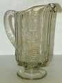 Westmoreland Glass Paneled Grape Footed Water Pitcher 1 Qt 32 oz PG-13 #1881