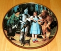 Collector Plate We're Off to See the Wizard Wizard of Oz Commemorative Plate