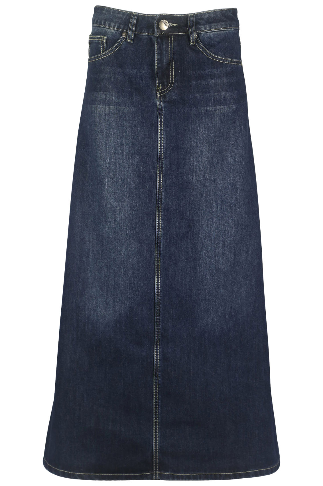 Monterey Bay Western Denim Long Skirt | eBay |Western Long Denim Skirts Modest