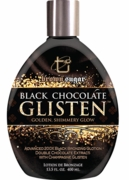 Black Chocolate Glisten - Golden Shimmery Glow