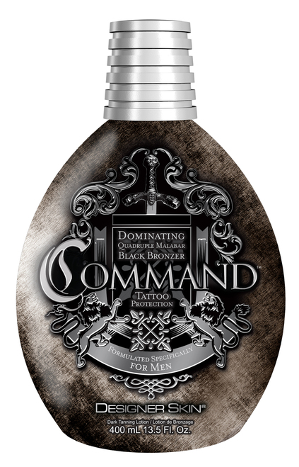 Command command tanning lotion designer skin command for Tattoo tanning lotion