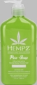 Pure Hemp - Signature Collection - Ultra Hydrating Herbal Body Hempz Moisturizer