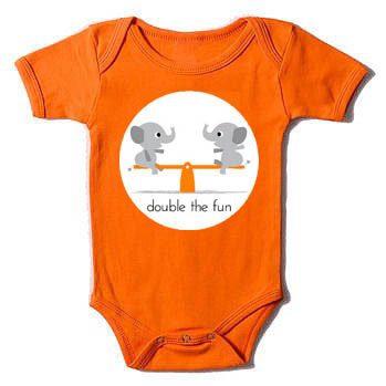 Double The Fun Twin Onesie Set Just Multiples