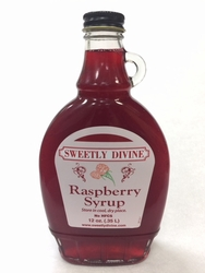 Raspberry Syrup, NO HFCS (NO High Fructose Corn Syrup)
