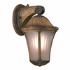 "Amarante 14 1/2"" High Gold Outdoor Wall Light"