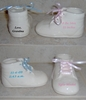 Personalized Ceramic Baby Bootie