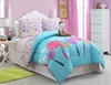 Girl's Friendly Fox Bed Set