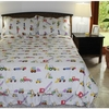 Boy's Construction White in Bed Set