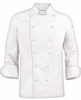 Classic French 12-Knot Chef Coat