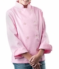 Cool Girl's Pink Classic Chef Coat