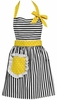 Dorothy Yellow Retro Apron
