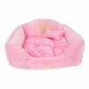 Dreaming Dots Puppy Bed - Pink