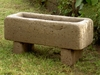 #512 English Garden Rectangle Trough 30""